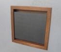 Flush-mounted laptop shelf enclosure